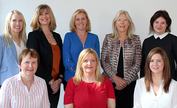 langford hall medical centre staff including rachel finnegan and sinead cotter